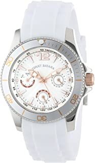 Tommy Bahama Swiss Women's TB2145 Riviera Swarovski Crystal Bezel White Dial Multi-Function and Strap Watch