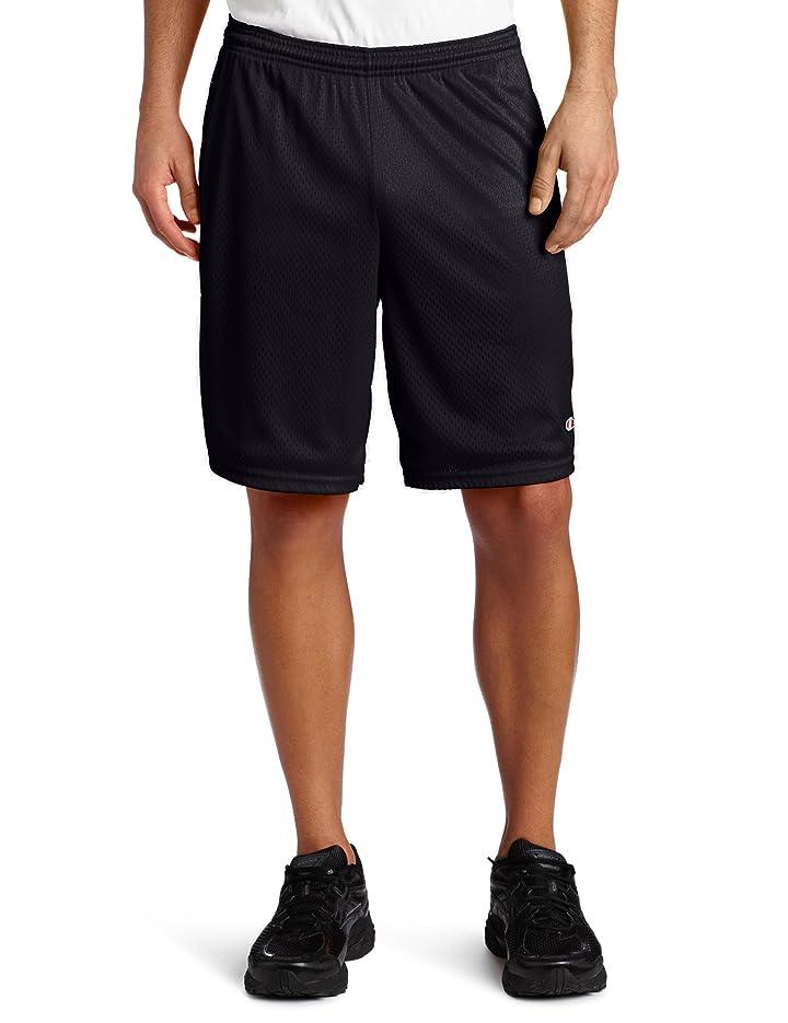 合図墓下着Champion ロングショーツ メッシュ素材 ポケット付き 男性用 US サイズ: XXX-Large カラー: ブラック