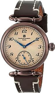 Charles-Hubert, Paris Women's 6957-N Premium Collection Analog Display Japanese Quartz Brown Watch
