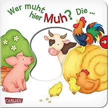 Wer muht hier Muh? Die ... Kuh!: Mein erster Reime-Bilder-Spaß mit Schieber: Bauernhof