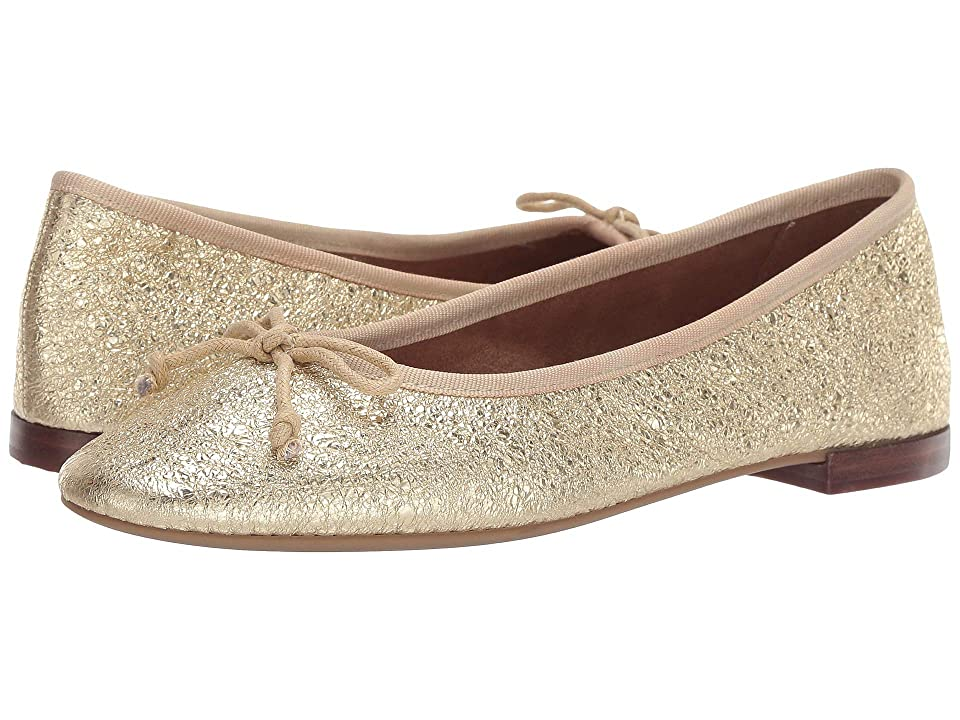 Pin Up Shoes- Heels, Pumps & Flats Aerosoles Martha Stewart Homerun Gold Leather Womens  Shoes $85.00 AT vintagedancer.com