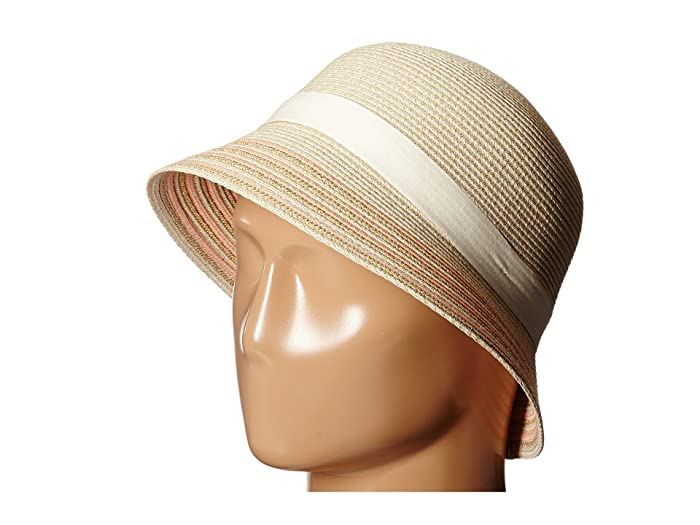 1930s Style Hats | Buy 30s Ladies Hats Betmar Tricia Ecru Multi Caps $28.67 AT vintagedancer.com