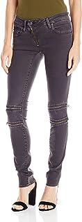 G-Star Raw Women's Lynn Mid Rise Custom Skinny Fit Colored Jean in Slander Superstretch Overdye
