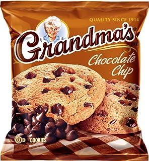 Grandma's Cookies - Chocolate Chip (2 1/2 oz.) (2 Cookies) (5 Packs, 10 Cookies Total)
