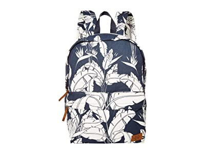 Roxy Light The Stars Backpack (Mood Indigo Flying Flowers S) Backpack Bags