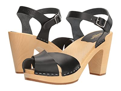 Swedish Hasbeens Merci Sandal (Black) Women