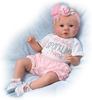 The Ashton-Drake Galleries Kaylie's Brand Sparkling New Baby Doll by
