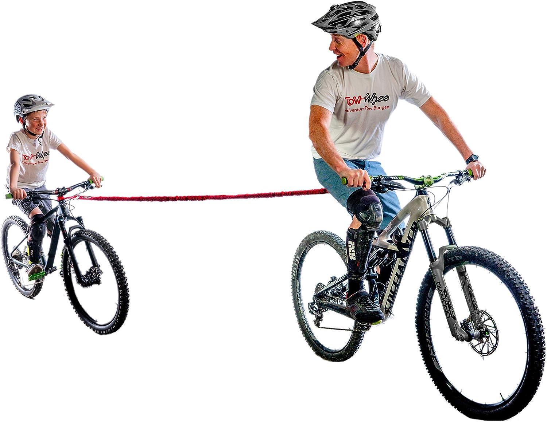 TowWhee - The Original Bike Bungee Tow Rope for Kids