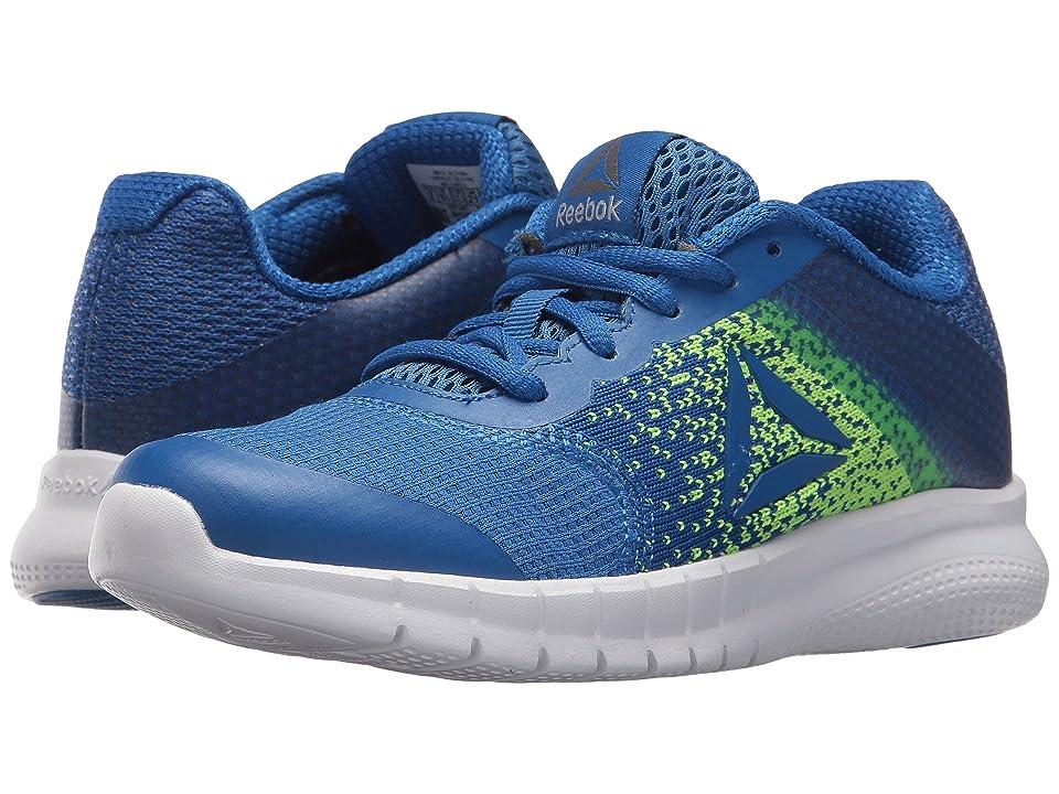 Reebok Kids Instalite Run (Little Kid/Big Kid) (Vital Blue/Electric Flash/Pewter) Boys Shoes
