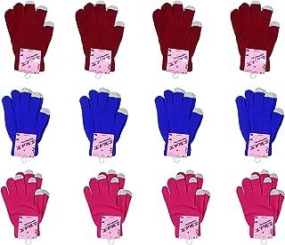 S.W.A.K Ladies Winter Gloves - 12 2-Packs - 24 Pairs of Gloves