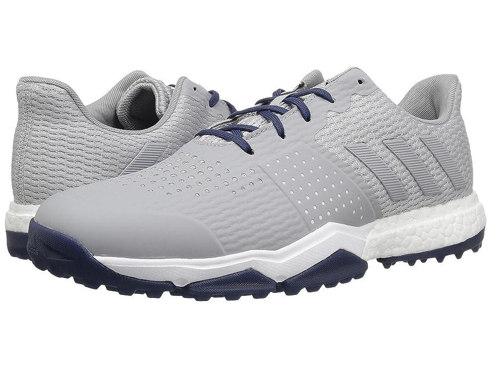 adidas Golf Adipower S Boost 3 (Grey Two/Grey Two/Noble Indigo) Men