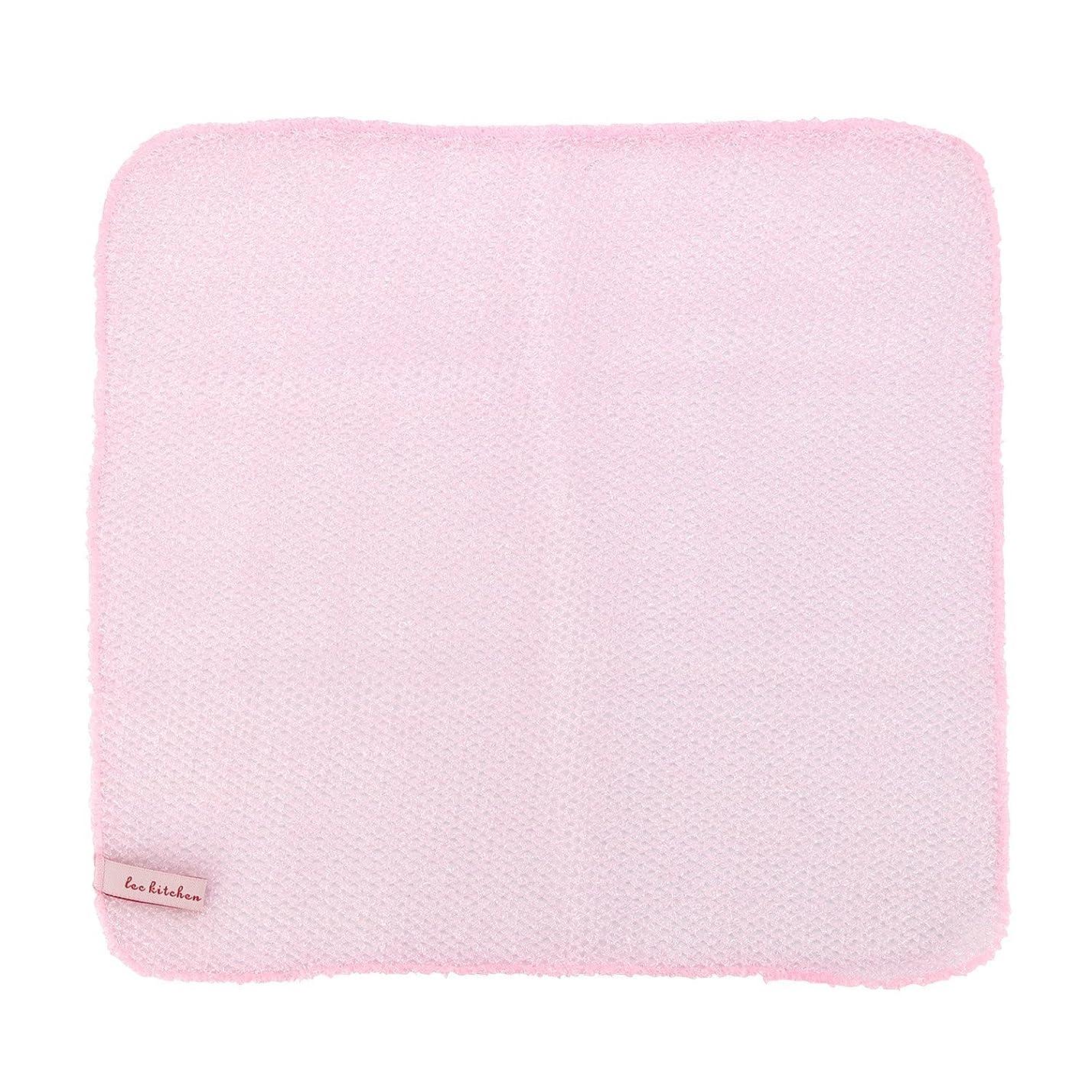 退却素敵な任命レック 水切れ?泡立ちのよい 食器洗いメッシュ (30×30cm) ピンク