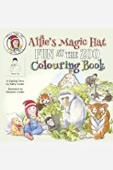 Alfie's Magic Hat - Fun at the Zoo Colouring Book Paperback