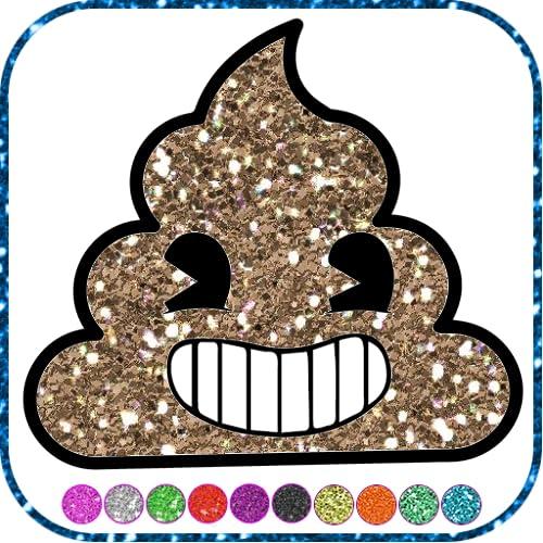 Emoji  Glitter Coloring Book - Color Games