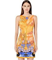 Versace Collection - Short Printed Sheath Dress