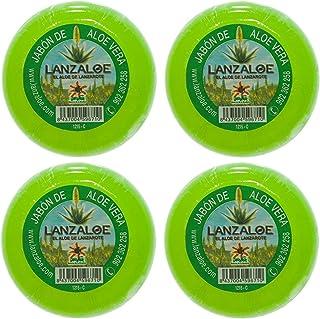 Lanzaloe Aloe Vera Seife 100gr x 4