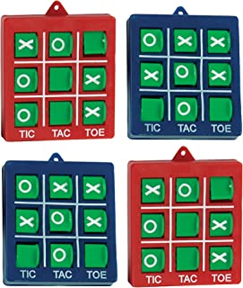 Unique Party 84704 - Noughts and Crosses Party Bag Fillers, Pack of 4