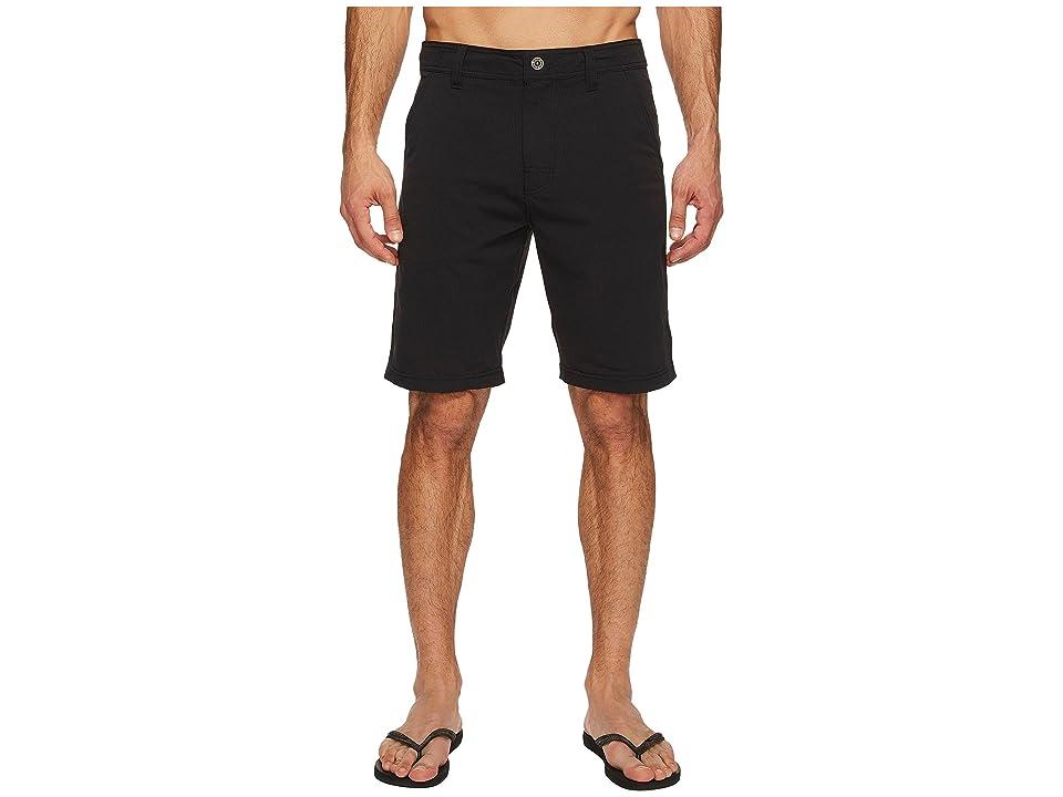 Prana Hybridizer Short (Black) Men