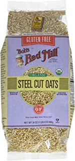 Bob's Red Mill Gluten Free Steel Cut Oats, 24 Oz (4 Pack)