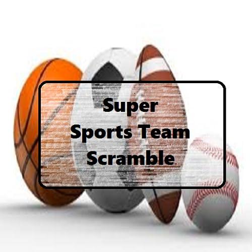 Super Sports Team Scramble