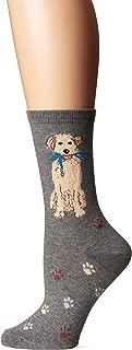 Women's Dog Lover Novelty Casual Crew Socks