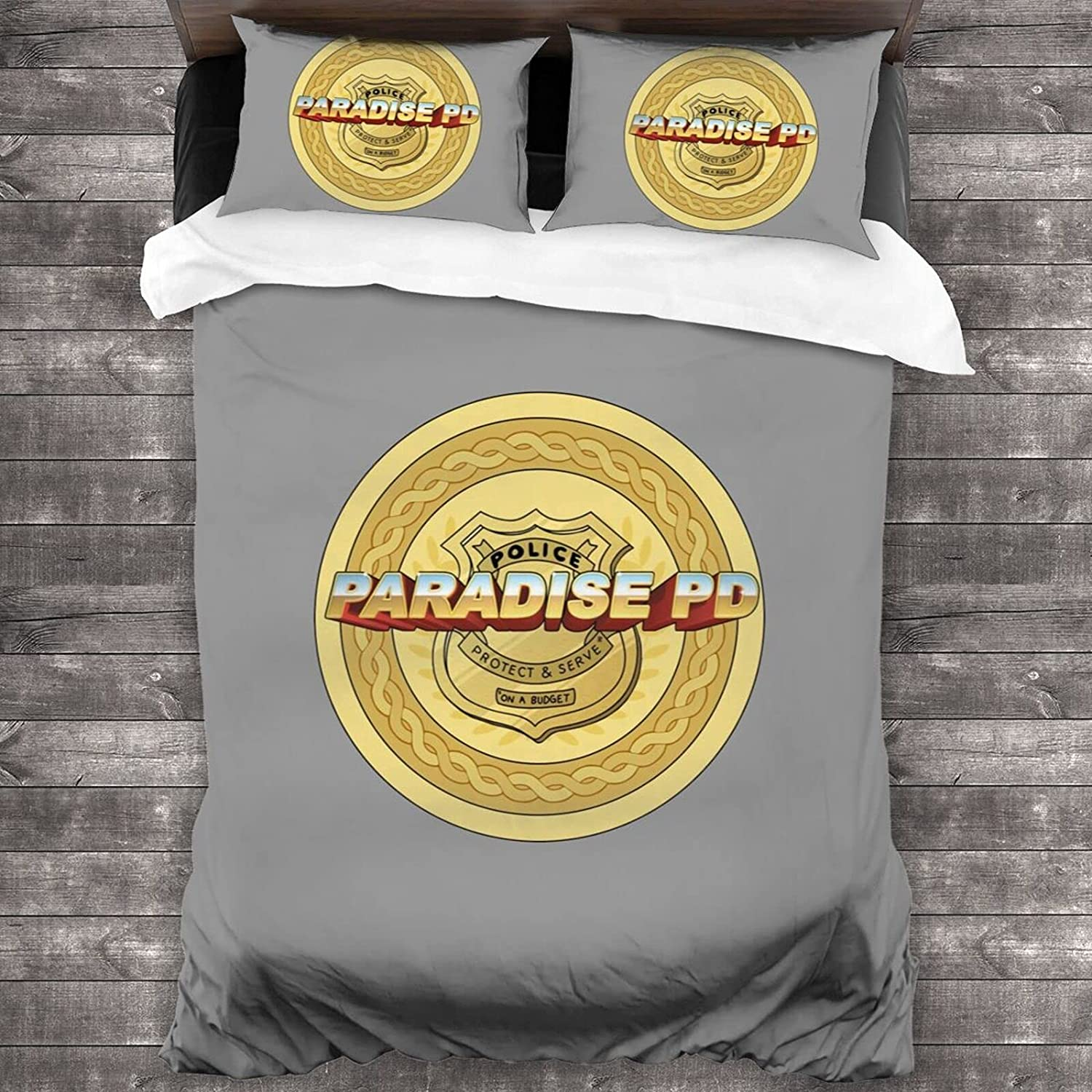 Dealing full price reduction PDNADFBEK SEAL limited product Paradise PD Microfiber Soft Set 3-Piece Bedding 86
