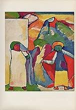 1958 Vintage Kandinsky Improvisation 6 - African Color Art Print Lithograph