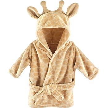 Hudson Baby Animal Plush Bathrobe, Giraffe, 0-9 meses