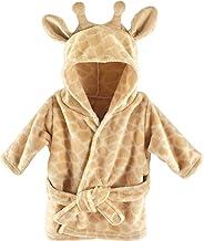 Hudson Baby Unisex Baby Plush Animal Face Robe, Giraffe, One Size, 0-9 Months