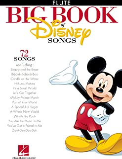 The Big Book of Disney Songs Songbook: Flute