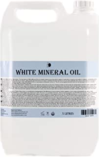 Mystic Moments   Witte Minerale Olie Carrier Olie - 5 Liter - 100% Puur