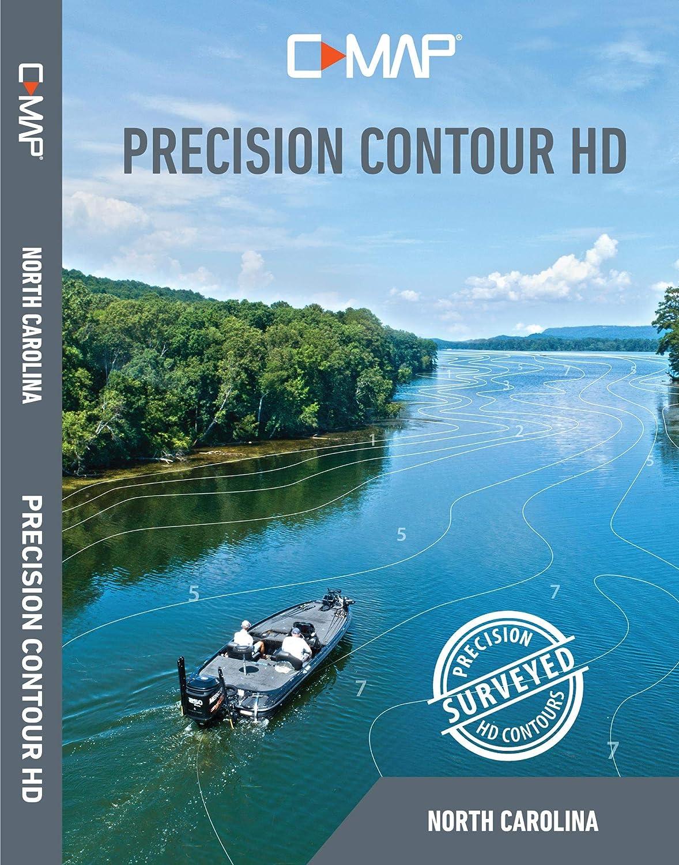 Lowrance C-MAP Precision Contour HD North Carolina