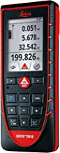 Leica Disto D510 (E7500i) 650ft/200m Laser Distance Measurer w/ Bluetooth and Disto Sketch App for iPhone/iPad - Red/Black