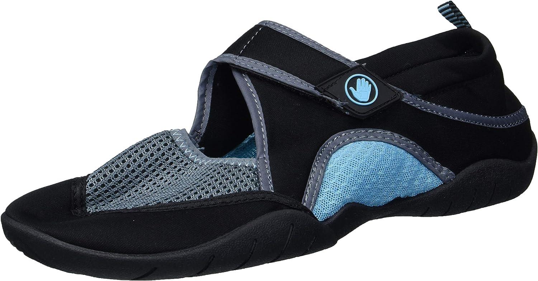 Body Glove Women's Namaste Water Shoe, Black/Gulf Stream