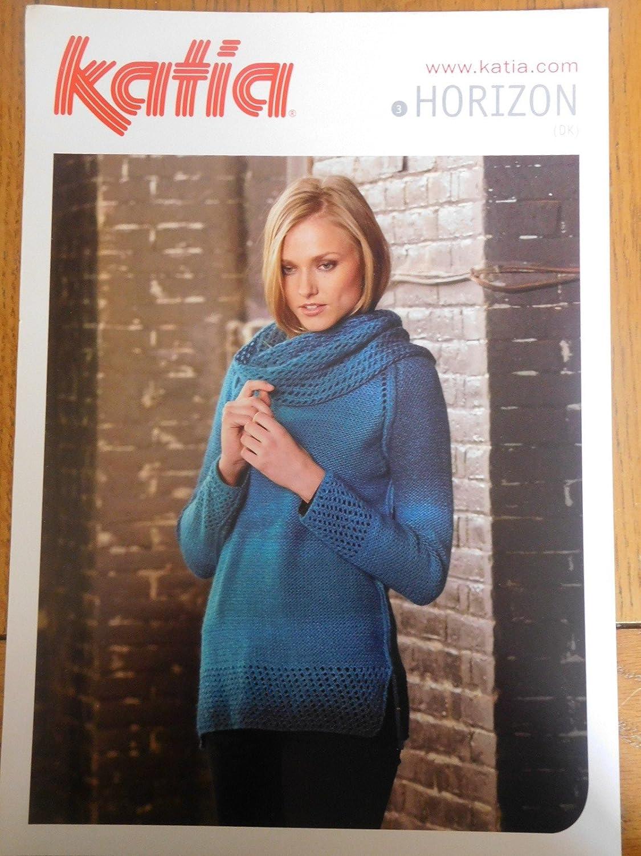 Katia Horizon Sweater 3 Knitting Pattern B07BBRXBMH | Der neueste Stil