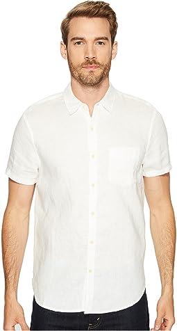 Short Sleeve Linen Ballona Shirt
