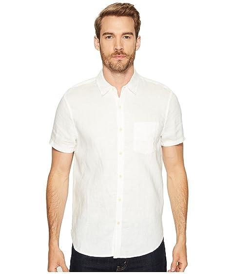 lucky brand short sleeve linen ballona shirt