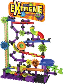 The Learning Journey Techno Gears Marble Mania STEM Construction Set – Extreme 4.0 Marble Run (200+ pieces) – Award Winning Learning Toys & Gifts for Boys & Girls Ages 6 Years and Up (455630)
