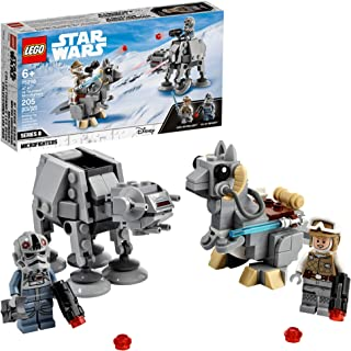 LEGO Star Wars at-at vs. Tauntaun Microfighters 75298 Building Kit; Awesome Buildable Toy Playset for Kids Featuring Luke ...