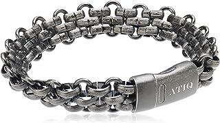 Atiq Wristband for Men Stainless Steel…
