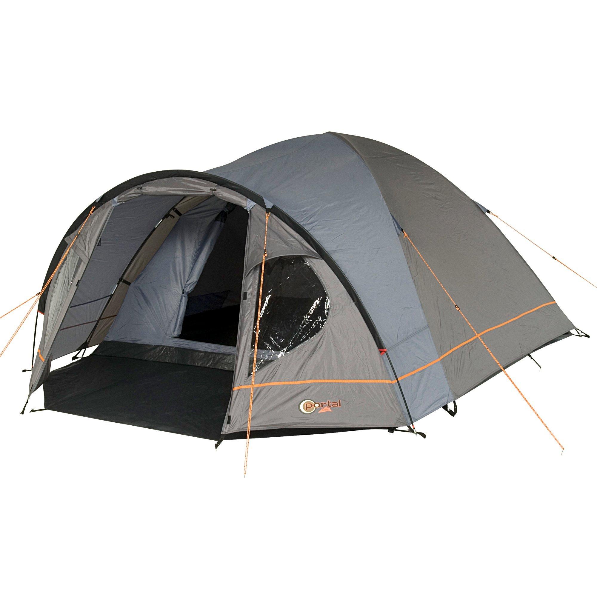 Portal de Camping Tienda Zeta 4 Tienda de campaña de cúpula con Cabina de Descanso para