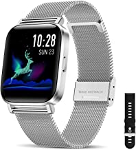 CanMixs Smart Watch for Android Phones iOS Bluetooth Smart Watches for Men Women IP68 Waterproof Sport Smartwatch Fitness ...