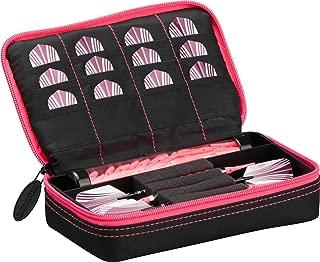 Casemaster Plazma Black and Trim Dart Case, for Both Steel tip and Soft tip Dart Sets