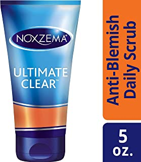 Noxzema Ultimate Clear Anti-Blemish Daily Deep Pore Face Scrub 5 ounce, 6 Count
