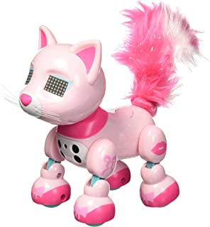 zoomer Meowzies, Chic, Interactive Kitten with Lights, Sound