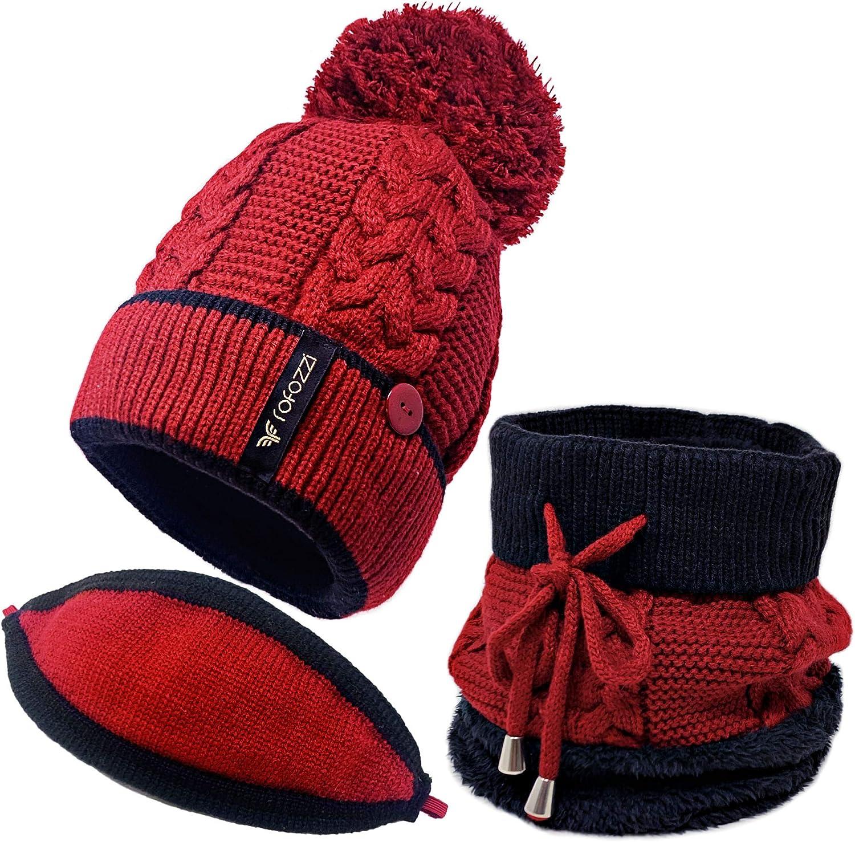 Beanie Pompom Neck Warmer Our shop OFFers the best service Scarf Ranking TOP8 Set Women Piece Hat Winter - 3
