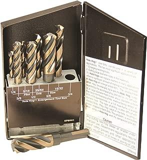 Viking Drill and Tool 38880 SP-8HH Type 284-UB Magnum Super Premium 4 Flute Hole Hog Core Drill Set