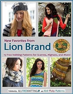 lion brand free knit hat patterns