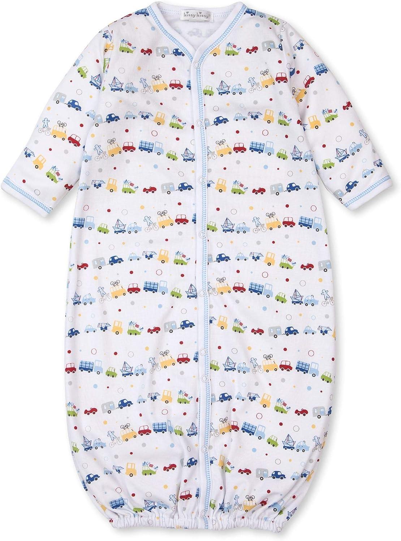 Kissy Kissy Baby-Boys Infant Bumper Traffic Print Convertible Gown
