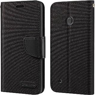 Nokia Lumia 530 fodral, Oxford läder plånboksfodral med mjuk TPU baksida fodral magnet flip fodral för Nokia Lumia 530